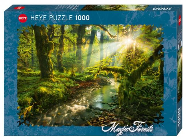 Puzzle Heye Jardín Espiritual de 1000 Piezas