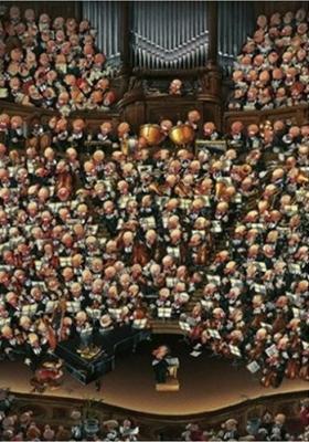 Puzzle Heye La Orquesta de 2000 Piezas