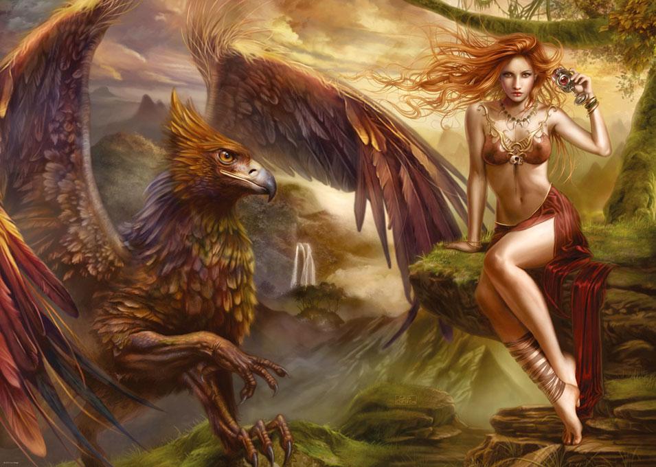 Puzzle Heye La Reina de las Aguilas de 2000 Piezas