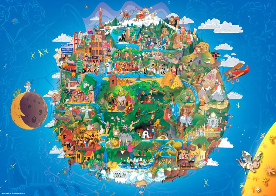 Puzzle Heye La Tierra de 1000 Piezas