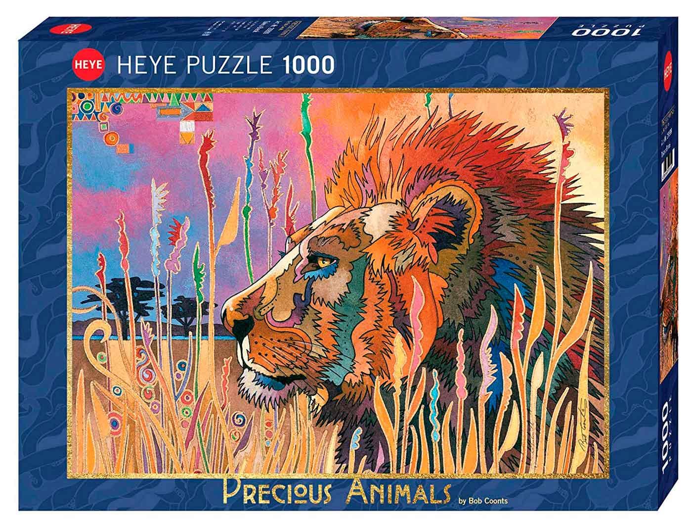 Puzzle Heye León Descansando de 1000 Piezas
