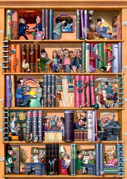 Puzzle Heye Libros de 1500 Piezas