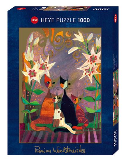 Puzzle Heye Lirios de 1000 Piezas