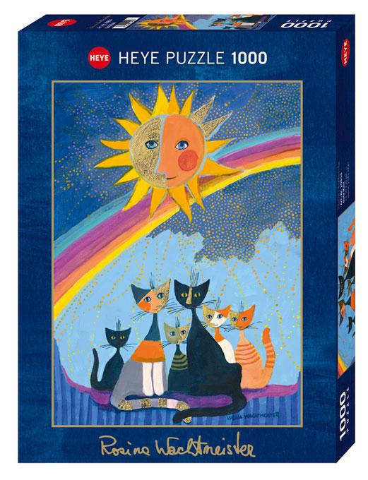 Puzzle Heye Lluvia de Oro de 1000 Piezas
