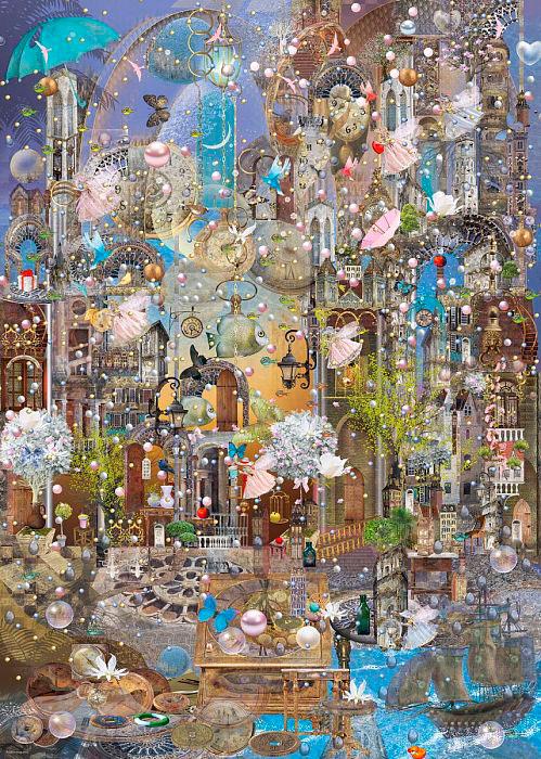 Puzzle Heye Lluvia de Perlas de 1000 Piezas