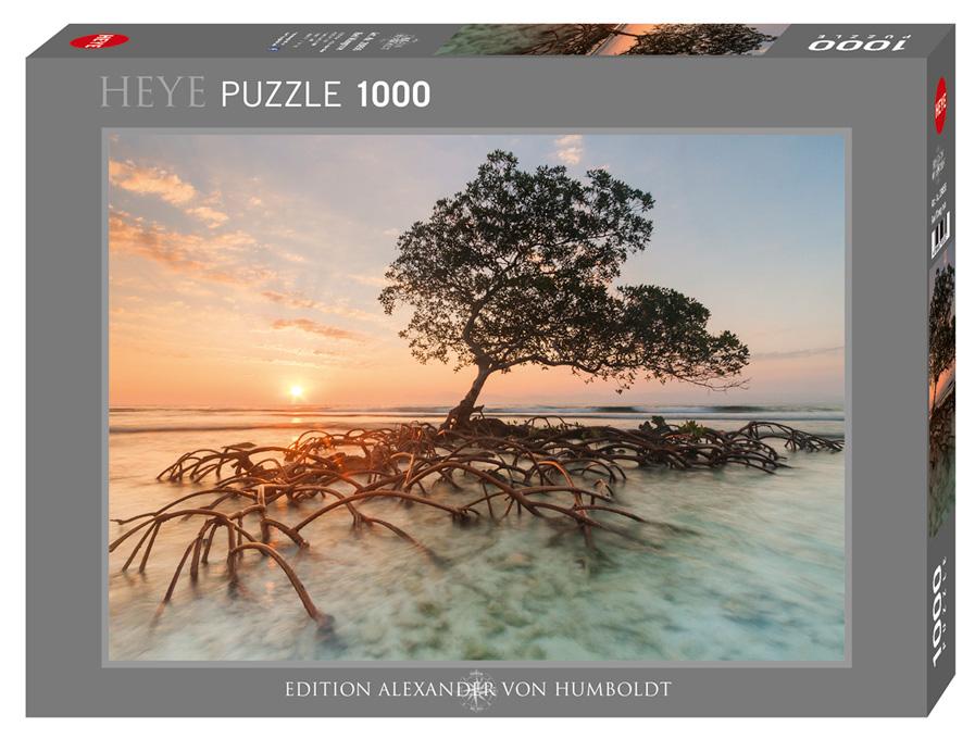 Puzzle Heye Manglar Rojo de 1000 Piezas