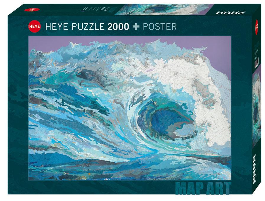 Puzzle Heye La Ola de 2000 Piezas