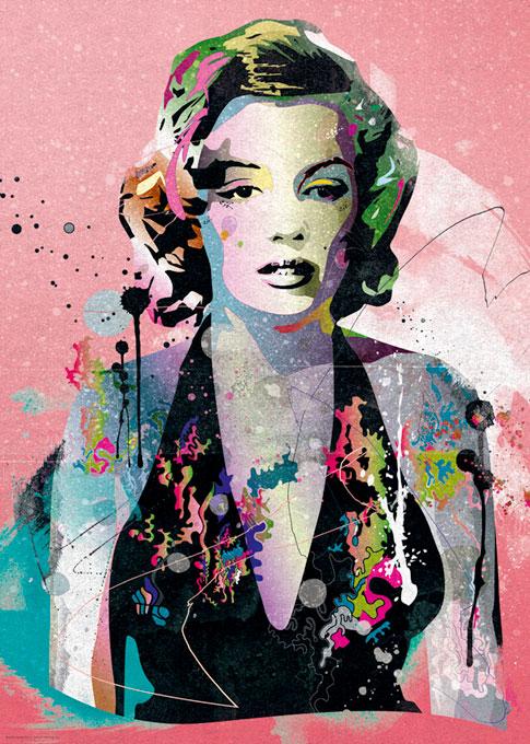 Puzzle Heye Marilyn Monroe, People de 1000 Piezas
