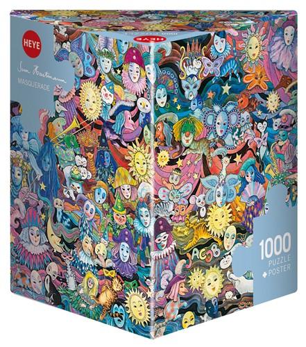 Puzzle Heye Máscaras de 1000 Piezas