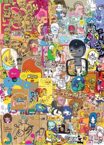 Puzzle Heye Merzdoodle de 1000 Piezas