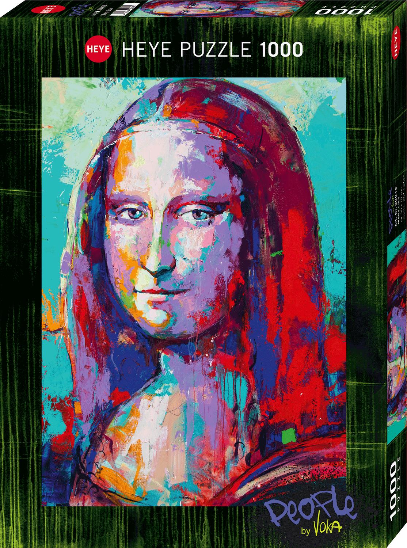 Puzzle Heye Mona Lisa, People de 1000 Piezas
