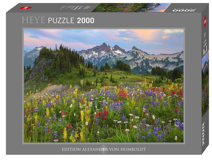 Puzzle Heye Montañas Tatoosh de 2000 Piezas
