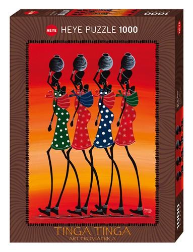 Puzzle Heye Mujeres Africanas de 1000 Piezas