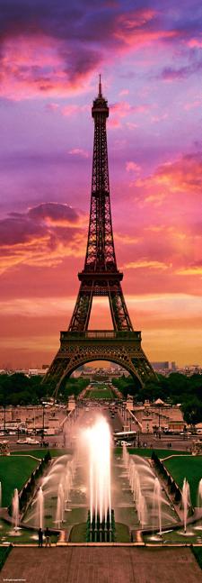 Puzzle Heye Noche en París de 1000 Piezas