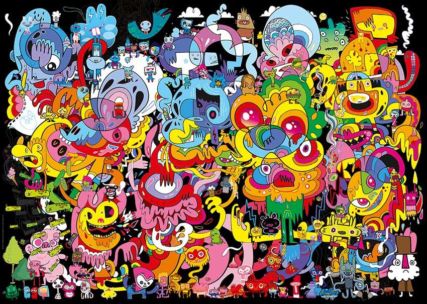 Puzzle Heye Nueva Psicodelia de 2000 Piezas