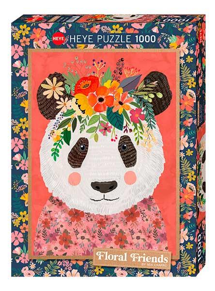 Puzzle Heye Panda Mimoso de 1000 Piezas