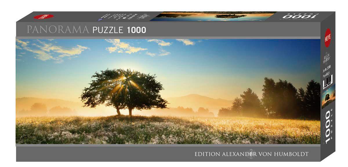 Puzzle Heye Panorámico Juego de Luces de 1000 Piezas