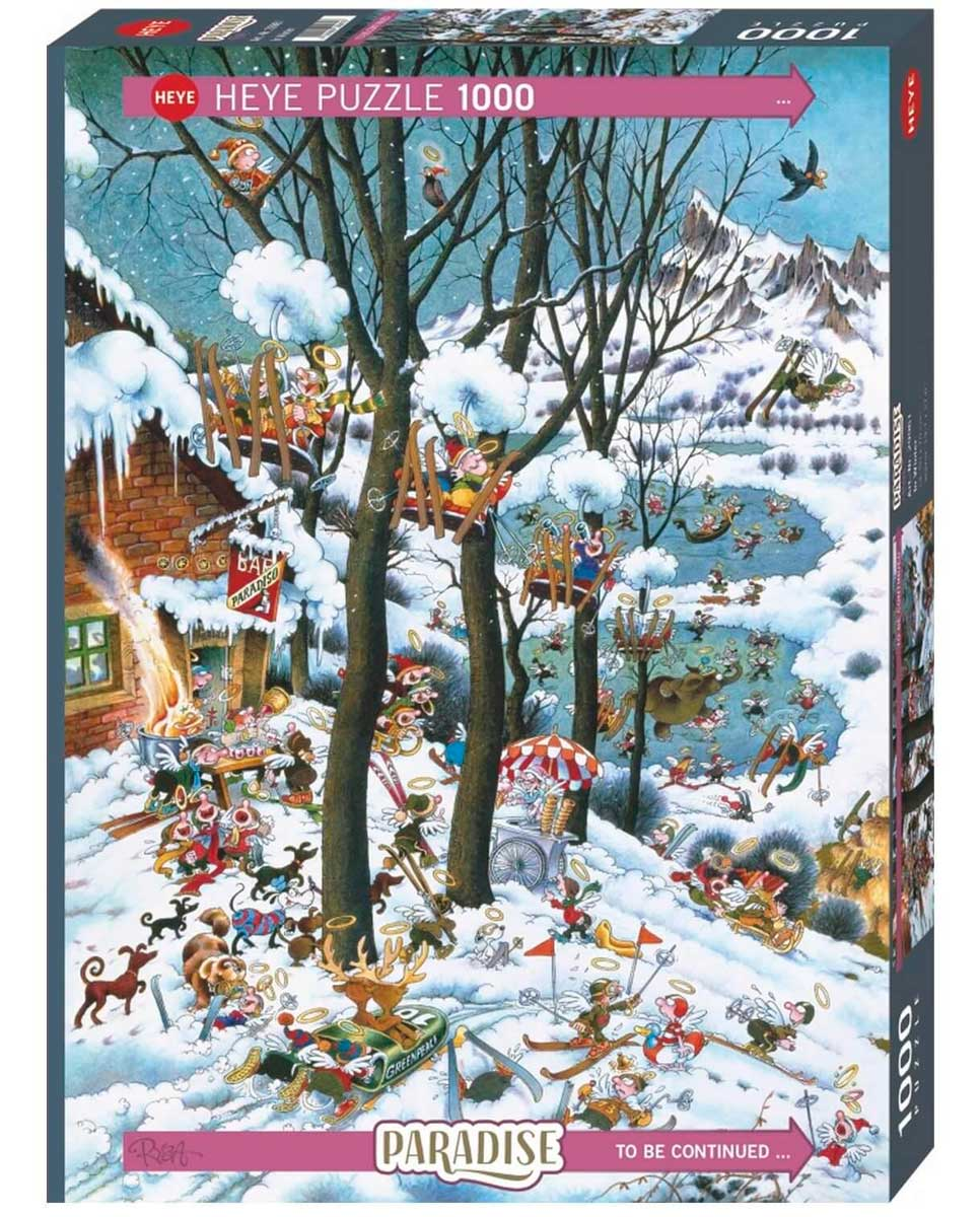 Puzzle Heye Paraíso en Invierno de 1000 Piezas