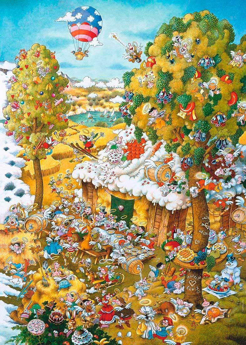 Puzzle Heye Paraíso en Verano de 1000 Piezas