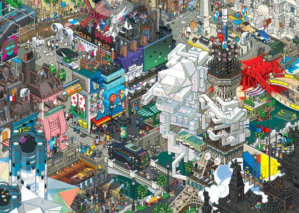 Puzzle Heye París de 1500 Piezas
