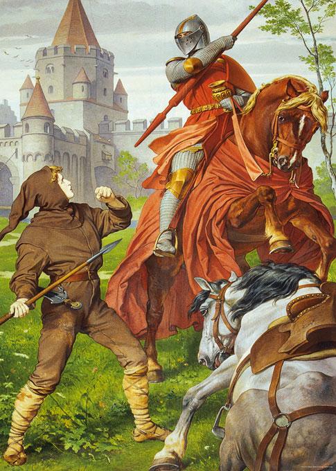 Puzzle Heye Dentro del Castillo del Rey Loco 1000 Piezas