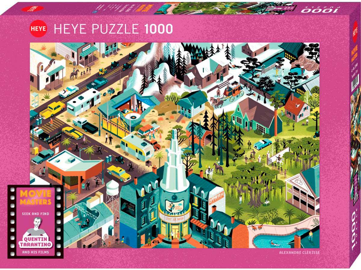 Puzzle Heye Películas de Quentin Tarantino de 1000 Piezas