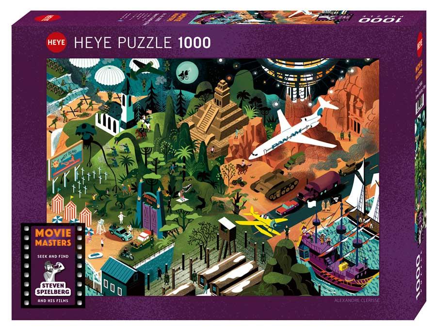 Puzzle Heye Películas de Steven Spielberg de 1000 Piezas