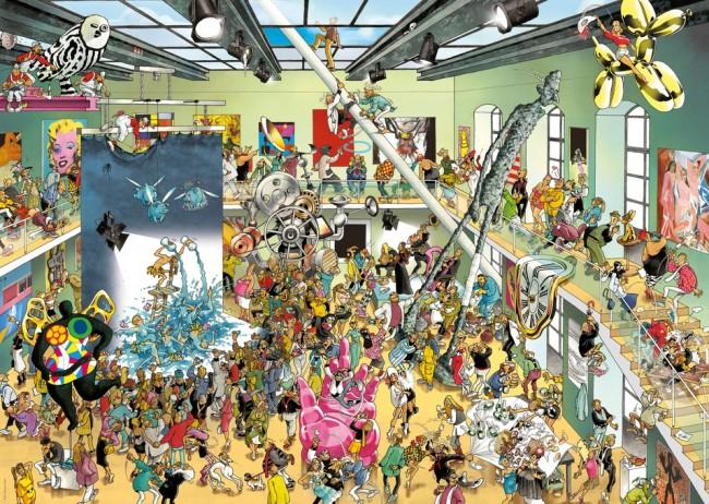 Puzzle Heye Performance de 2000 Piezas