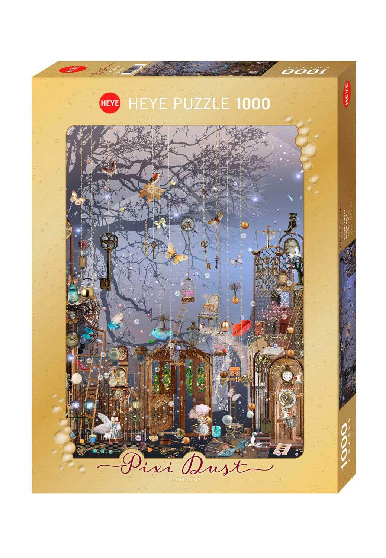 Puzzle Heye Pixie Dust, Llaves Mágicas de 1000 Pzs