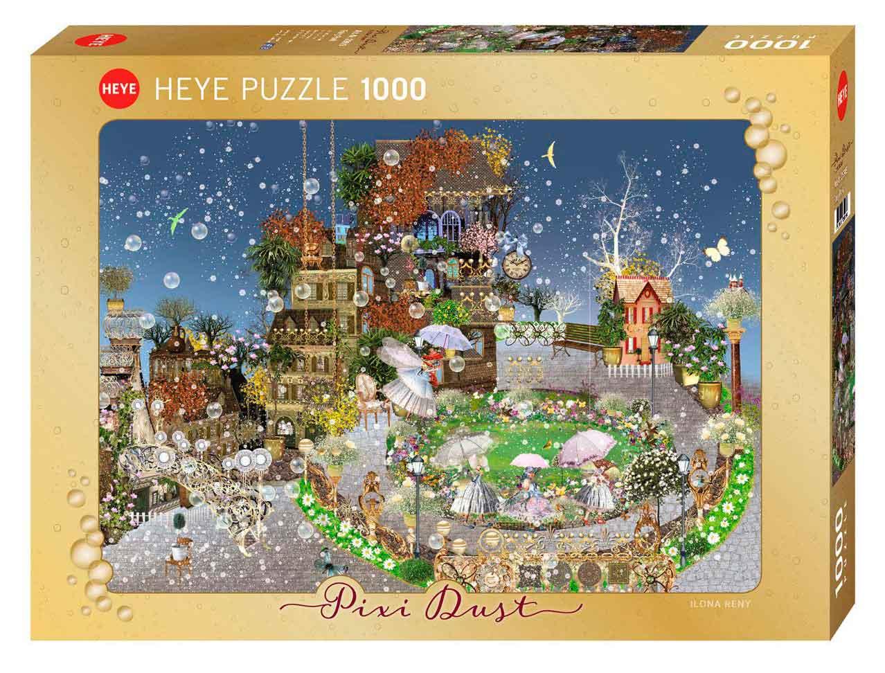 Puzzle Heye Pixie Dust, Parque de las Hadas de 1000 Pzs