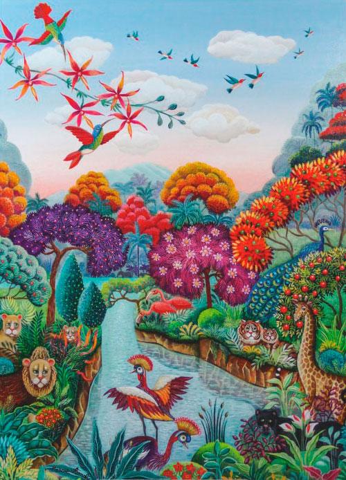 Puzzle Heye Planta del Paraíso de 500 Piezas