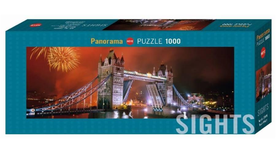 Puzzle Heye Puente de las Torres, Londres de 1000 Piezas