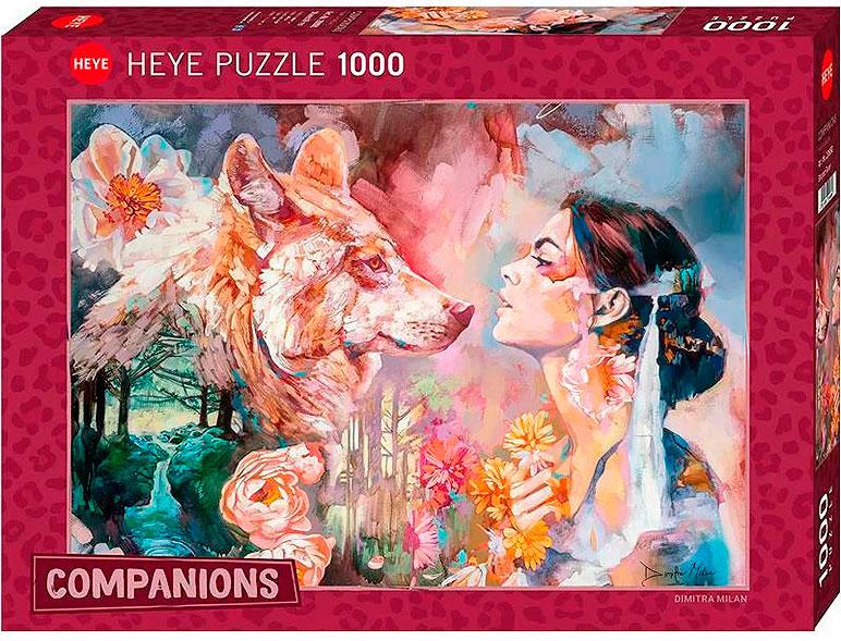 Puzzle Heye Río Compartido de 1000 Piezas