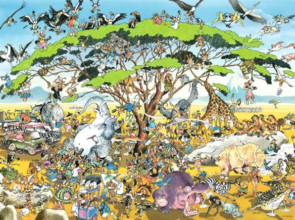 Puzzle Heye Safari de 1500 Piezas