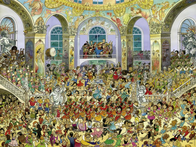 Puzzle Heye Salón de Baile de 1500 Piezas