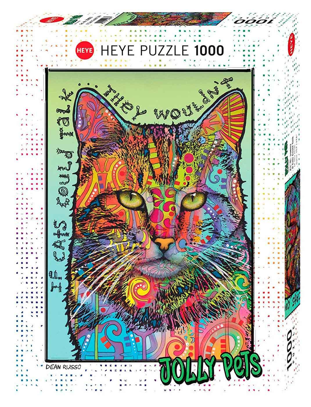 Puzzle Heye Si Los Gatos Pudiesen Hablar de 1000 Piezas
