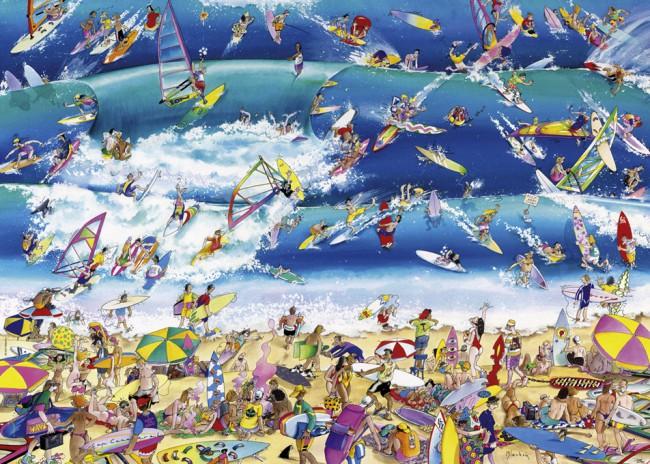 Puzzle Heye Surfing de 1000 Piezas