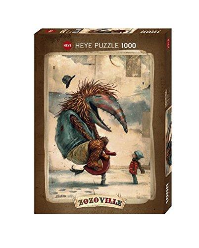 Puzzle Heye Tiempo Primaveral de 1000 Piezas