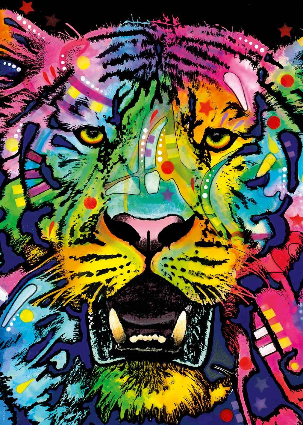 Puzzle Heye Jolly Pets, Tigre Salvaje de 1000 Piezas