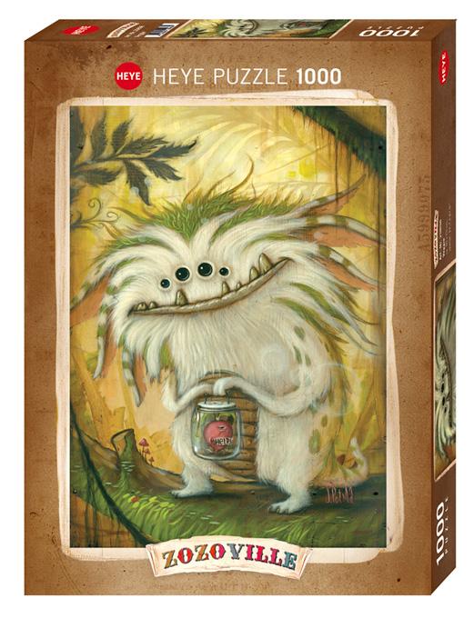Puzzle Heye Vegetariano de 1000 Piezas