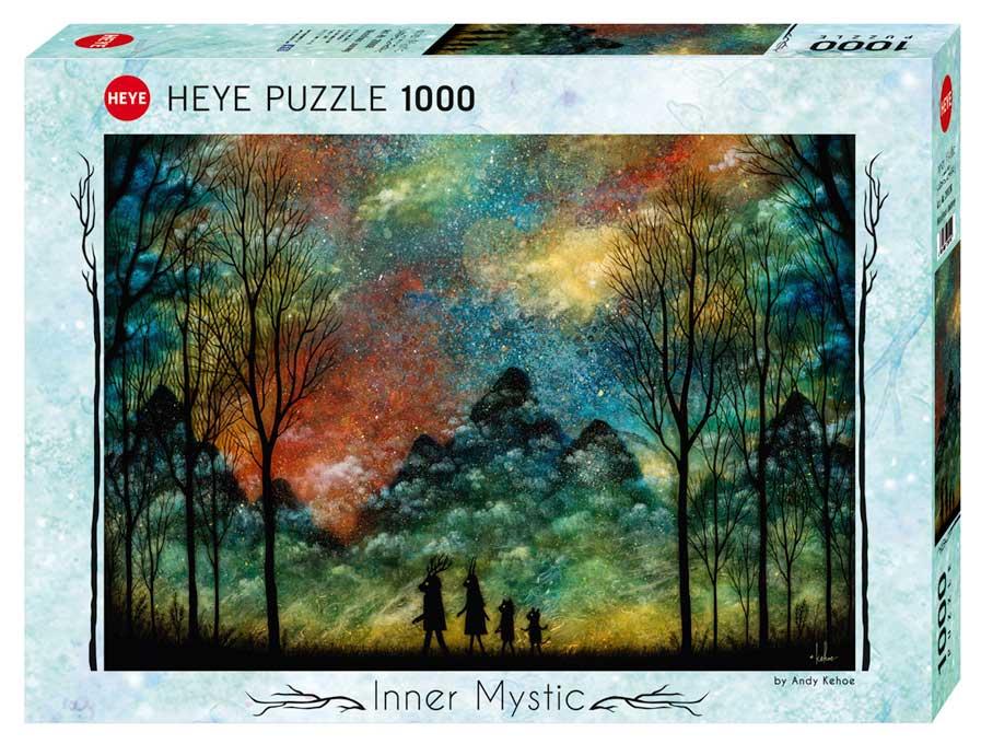Puzzle Heye Viaje Maravilloso de 1000 Piezas
