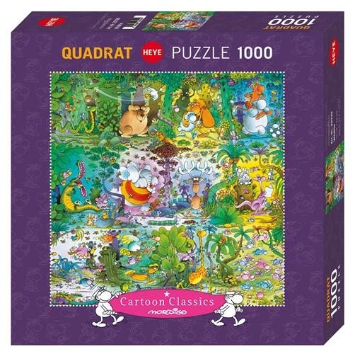 Puzzle Heye Vida Salvaje de 1000 Piezas