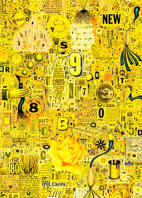 Puzzle Heye Yelow Rose de 1000 Piezas