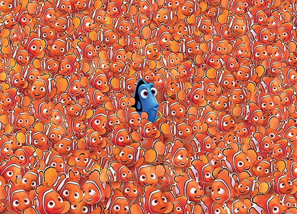 Puzzle Imposible Clementoni Buscando a Nemo de 1000 Piezas