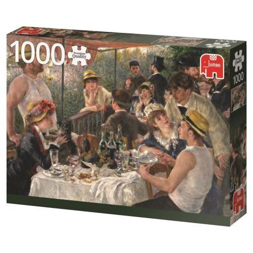 Puzzle Jumbo Almuerzo de Remeros de 1000 Piezas