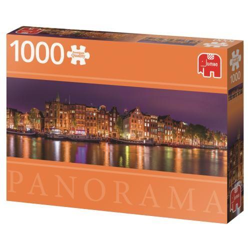 Puzzle Jumbo Amsterdam Skyline de 1000 Piezas