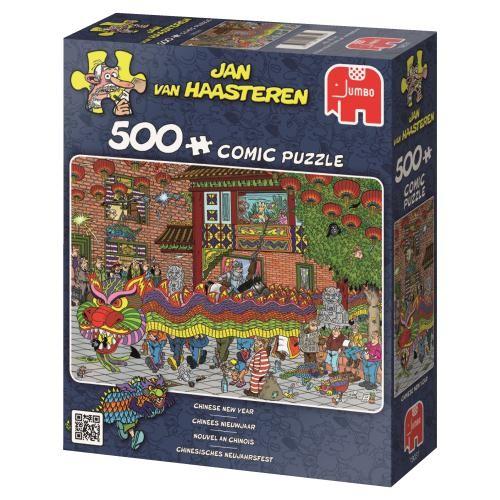 Puzzle Jumbo Año Nuevo Chino de 500 Piezas