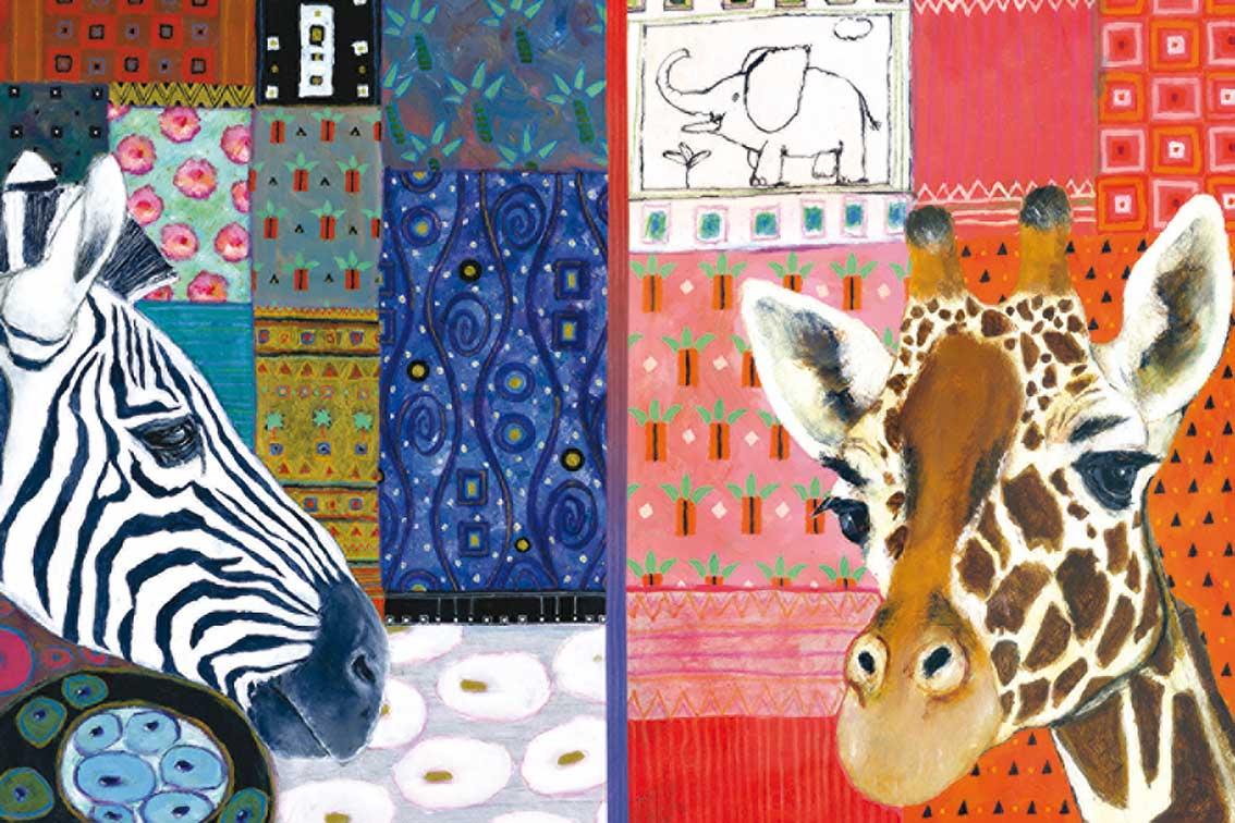 Puzzle Jumbo Arte Africano de 1500 Piezas