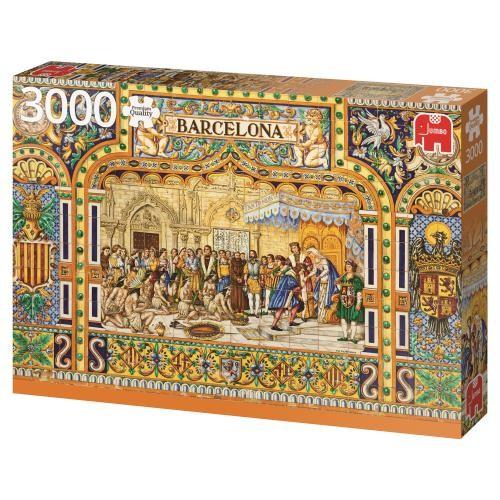 Puzzle Jumbo Azulejos de Barcelona de 3000 Piezas