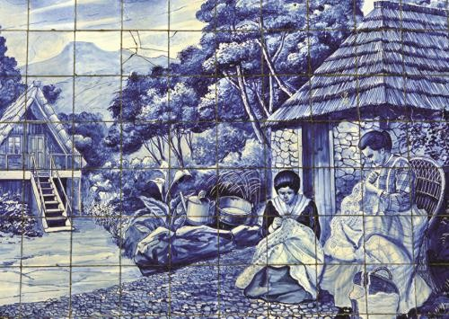 Puzzle Jumbo Azulejos Portugueses de Funchal de 500 Piezas